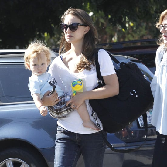 Natalie Portman Shops With Aleph Millepied | Pictures