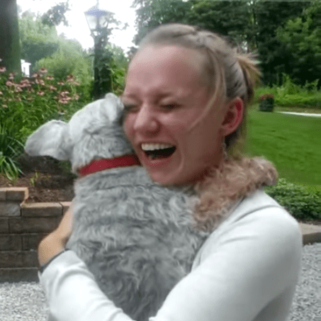 Dog Faints at Seeing Owner For First Time in 2 Years Video