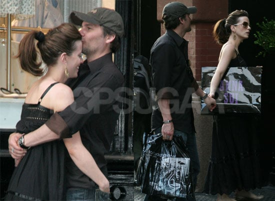 Kate Comforts Her Man With Kisses
