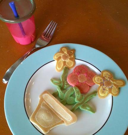 Flowerpot Pancakes