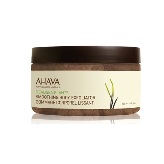 While some scrubs dissolve before you can feel the effects, Ahava's Smoothing Body Exfoliator ($28) gets the job done for smoother and brighter skin from head to toe. Use it before shaving or self-tanner for gorgeous gams this season. — Jessica Cruel