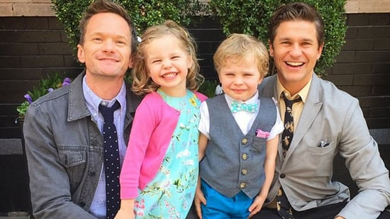 Neil Patrick Harris Joins His Twins For Tea Time -- See the Adorable Pics!