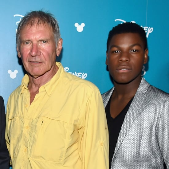 John Boyega Does an Impression of Harrison Ford