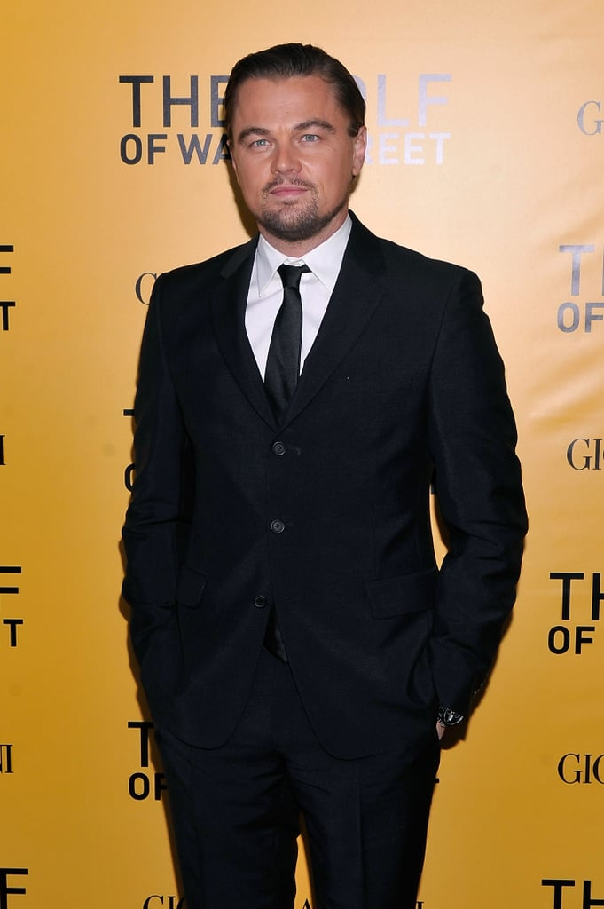 Leonardo DiCaprio showed off his dapper figure at the NYC premiere of The Wolf of Wall Street.