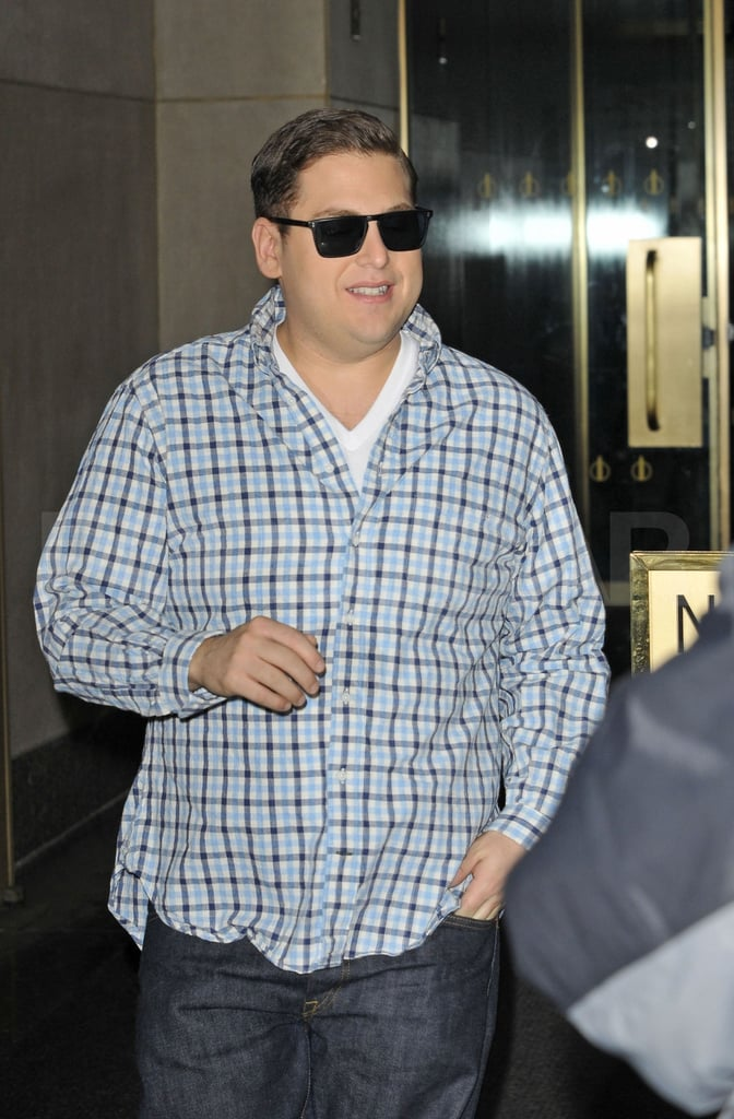 Jonah Hill walked into The Today Show.