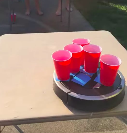 Roomba Pong Video