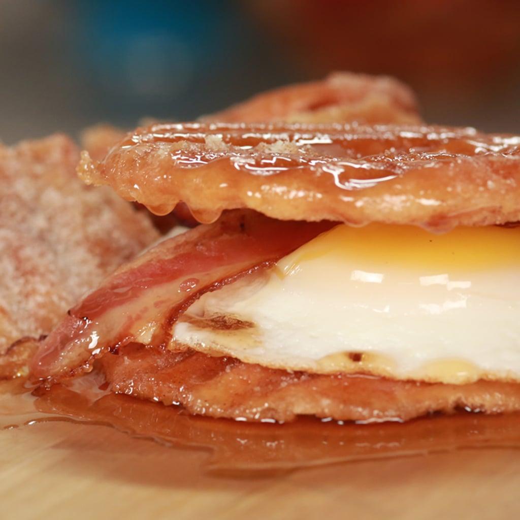 Donut Chip Breakfast Sandwich