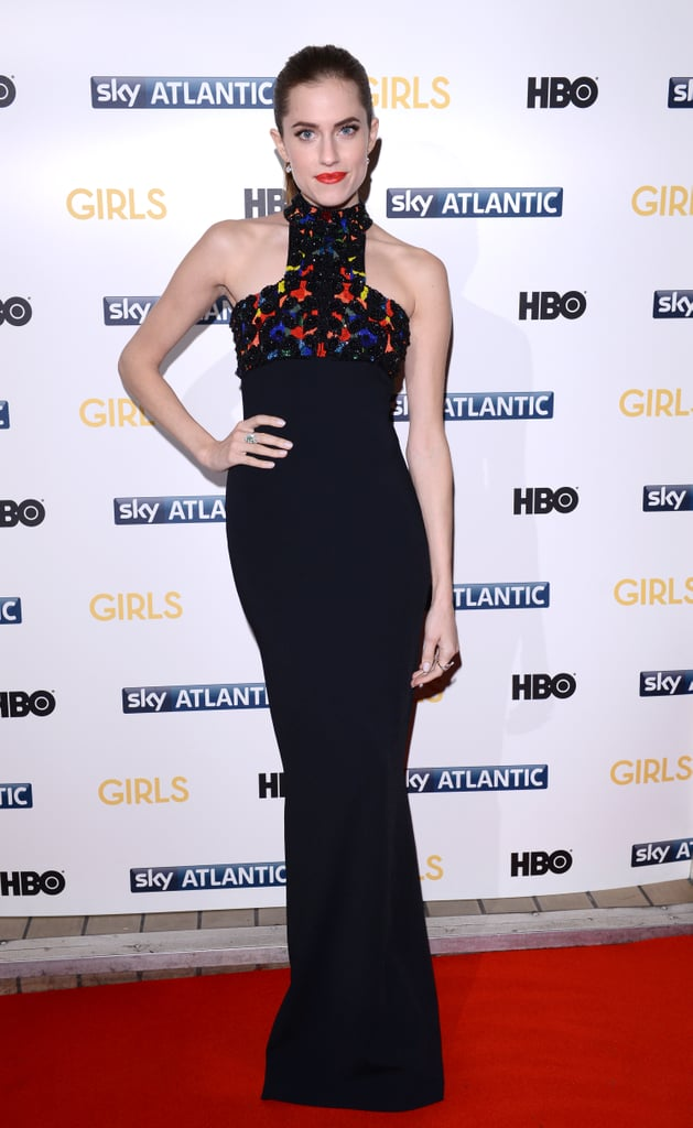 Allison Williams at the Girls London Premiere