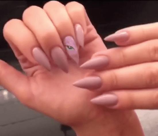 Khloe Kardashian My Little Pony Nail Art