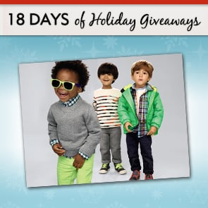 18 Days of Holiday Giveaways, Day 9: Win One of Four $250 GAP Gift Cards