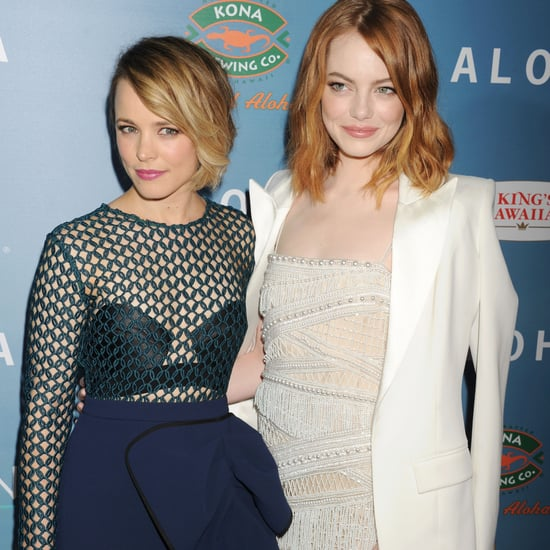 Naughty or Nice: Emma Stone and Rachel McAdams Wore 2 Very Different Looks