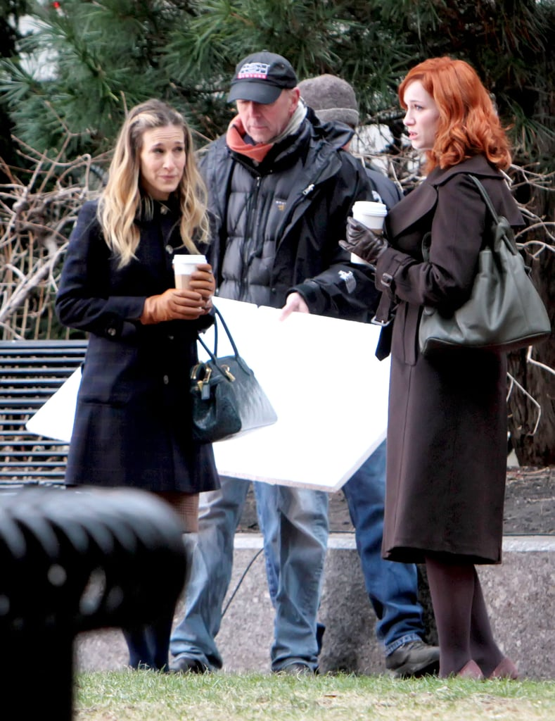 Sarah Jessica Parker and Christina Hendricks Figure Out How to Get Their Movie Made in Boston