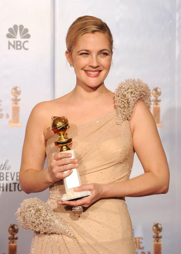 She's a Golden Globe Winner
