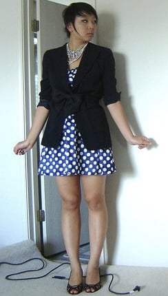 Look of the Day: Bows and Dots
