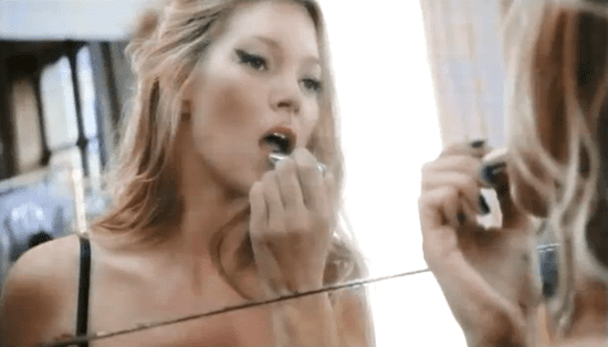 Watch Kate Moss in Dior's New Addict Lipstick Commercial