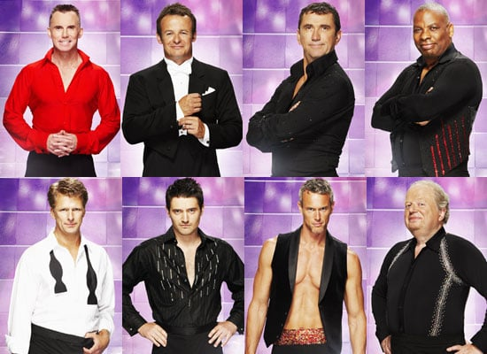 Photos Of The Male Celebrity Contestants On Strictly Come Dancing