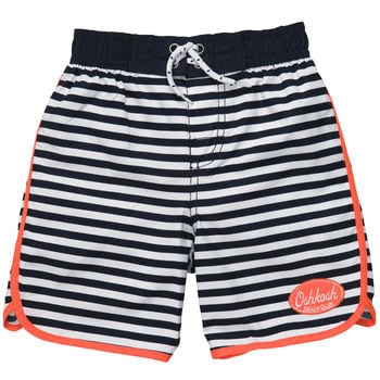 A pair of Osh Kosh navy striped swim trunks ($13) is sure to become a Summer staple.