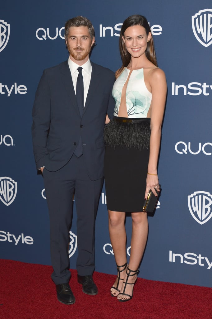 Dave and Odette Annable arrived together for the InStyle party.