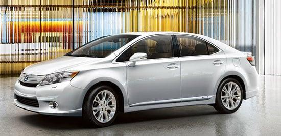 Photos of the New Lexus HS Hybrid Sedan