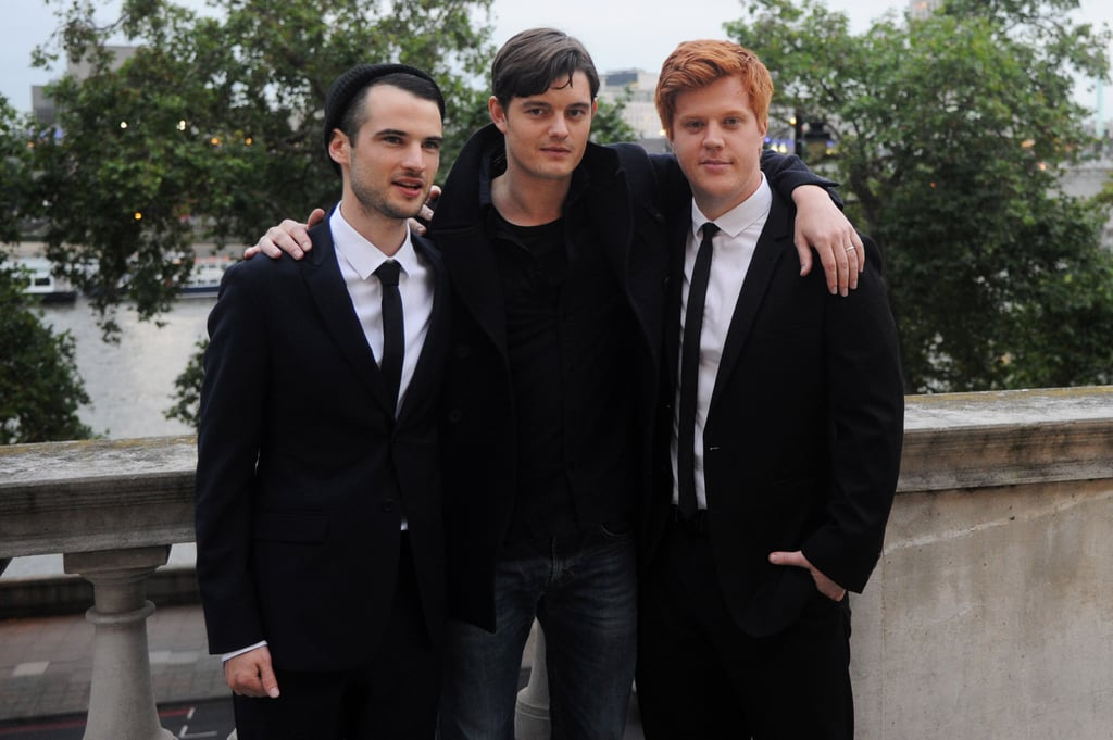 Tom Sturridge, Sam Riley, Danny Morgan at the premiere of On The Road in London.