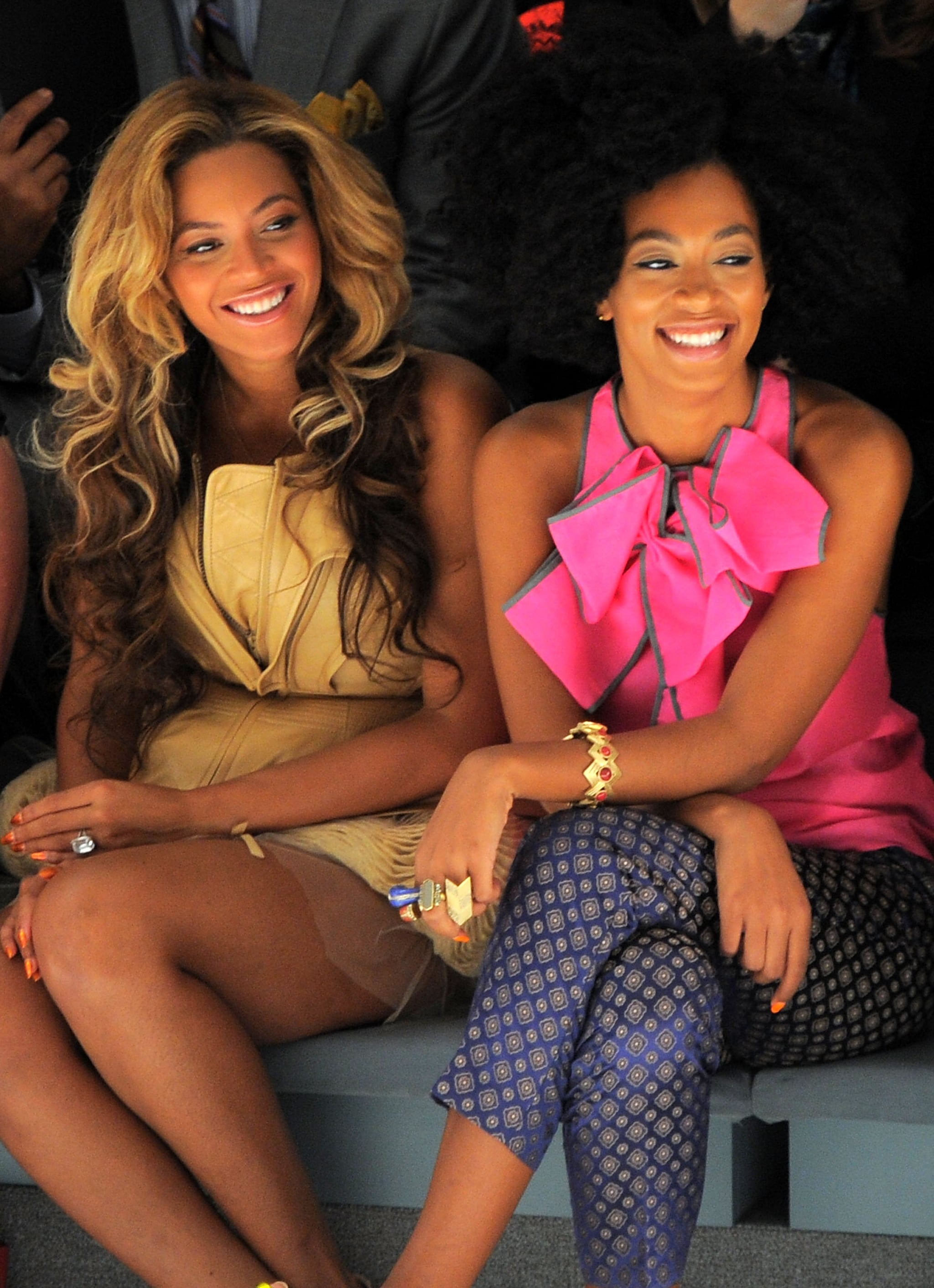 Look Back at Beyoncé and Solange Before the Drama