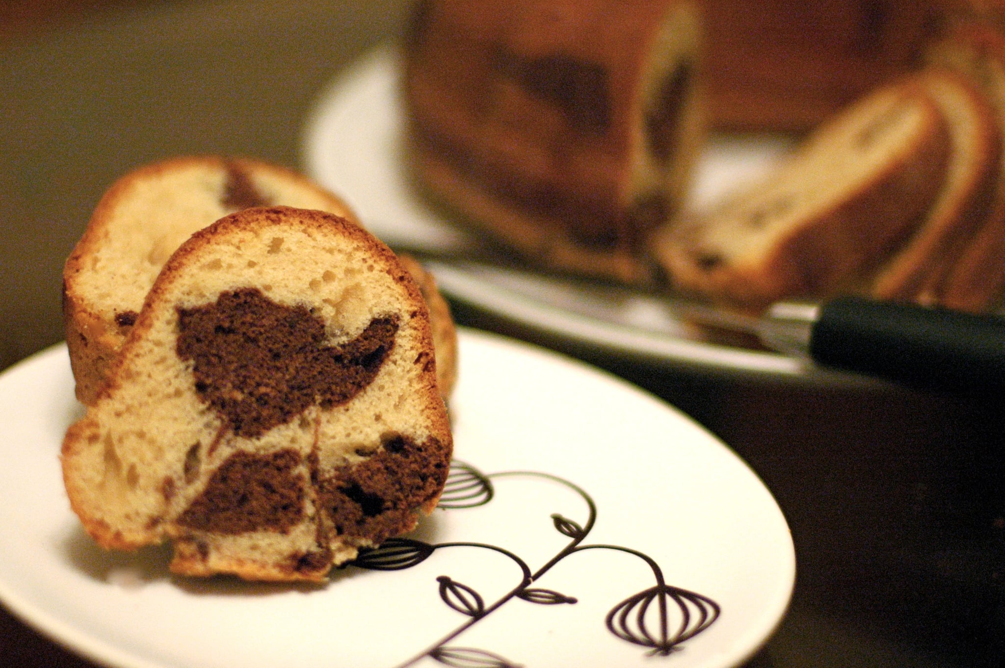 With a mocha cappuccino marbled coffee cake you can employ the help of ...