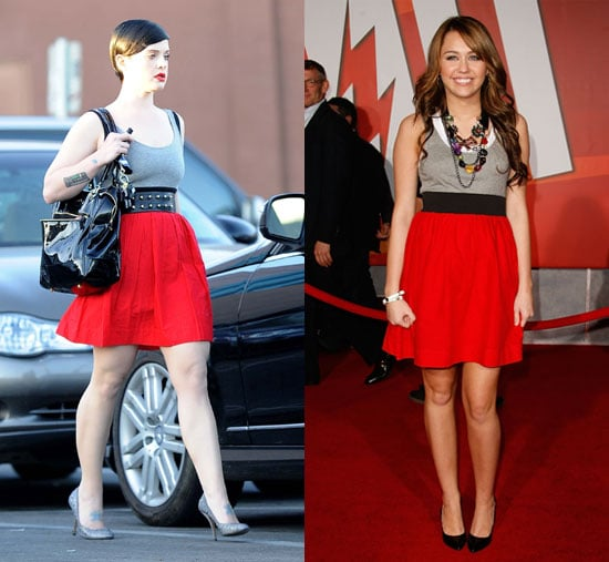 Who Wore It Better? Theory Alisse Colorblock Dress