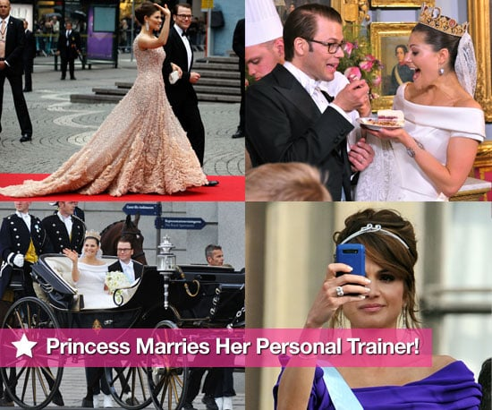 Pictures From The Swedish Royal Wedding: Count Princess Victoria Marries Her Personal Trainer Daniel Westling!