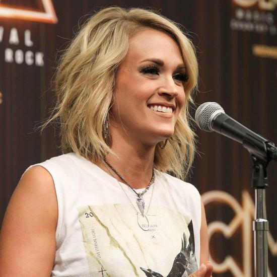 Carrie Underwood's Makeup-Free Selfie | August 2016
