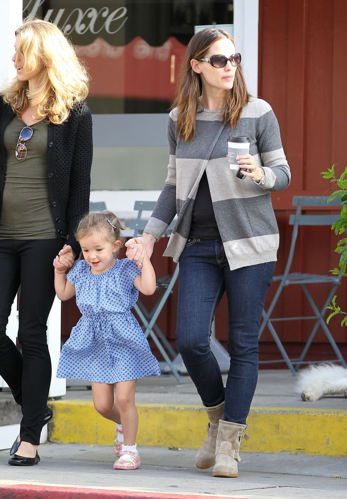 Jennifer Garner spent some time with daughter Seraphina in LA.