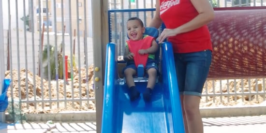This Seat Helps Kids With Cerebral Palsy Experience The Joy Of Slides