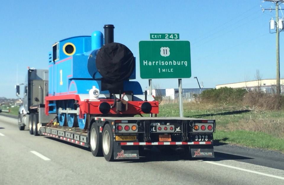 """""""My buddy saw Thomas the Tank Engine getting kidnapped earlier this morning."""" Source: Reddit user StayCheesy via Imgur"""