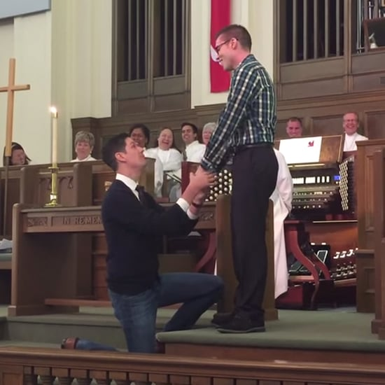 Same-Sex Marriage Proposal in Church