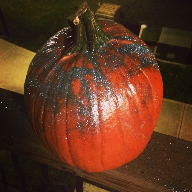 Glitter Pumpkin