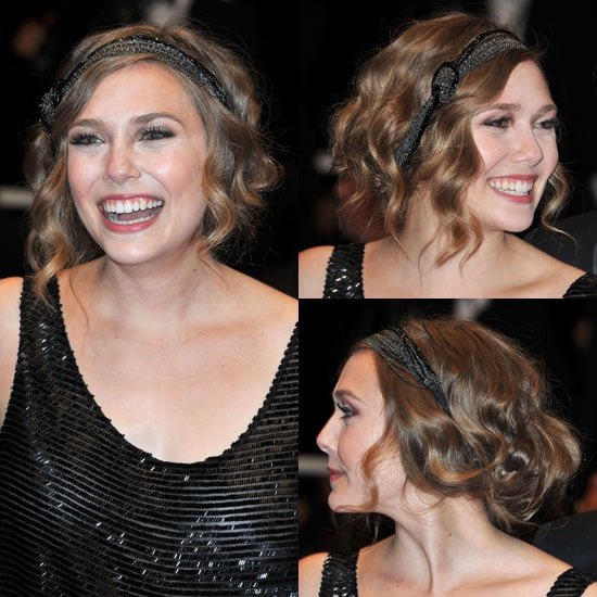 Elizabeth Olsen's Hairstyle at the 2011 Cannes Film Festival