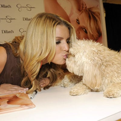 Jessica Simpson Promotes Fancy