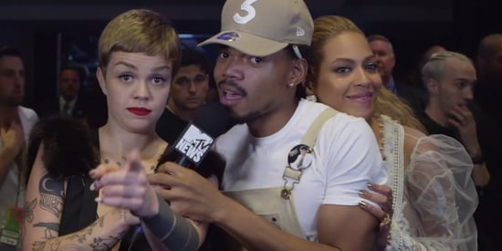 Chance The Rapper Is Anything But Chill When Bey Crashes His Interview