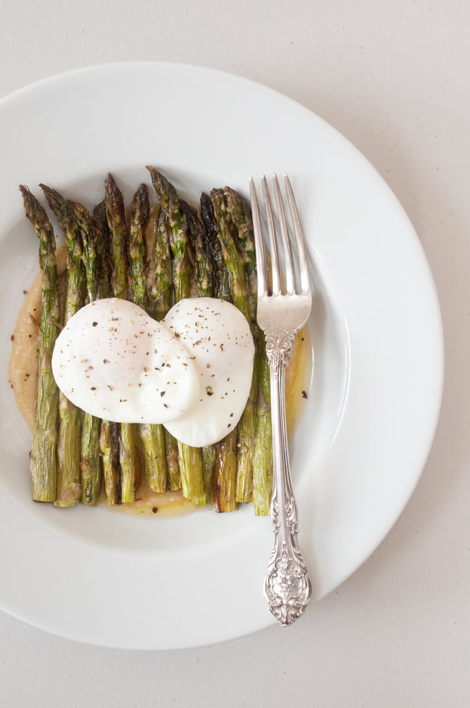 Roasted Asparagus With Miso Butter
