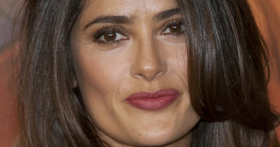 Salma Hayek Laughs Off  'Inappropriate' Top  After She's Rushed To ER