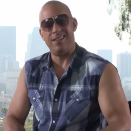 "Vin Diesel Singing ""See You Again"" During Interview 