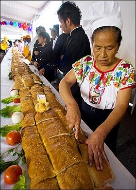 Mexico Whips Up World's Largest Torta