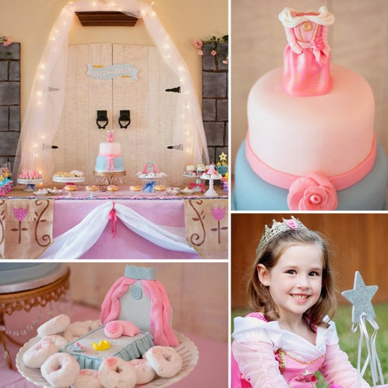 A Pink and Blue Sleeping Beauty Party