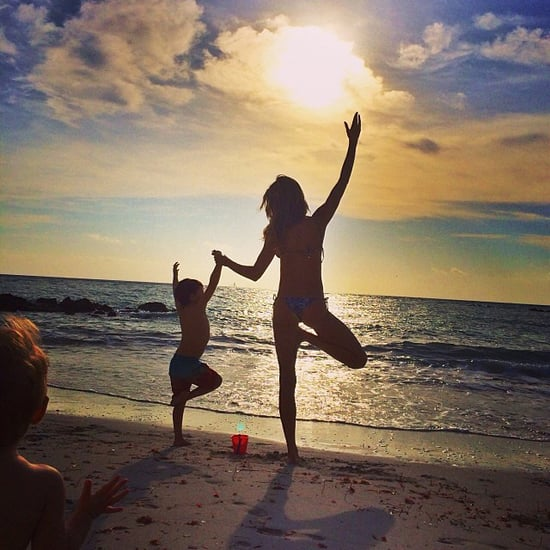 Celebrity Moms' Instagram Pictures Week of Dec. 15, 2013