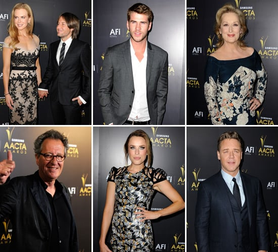 Nicole, Liam, Joel and More Aussies Headline the First Annual AACTA International Awards in LA
