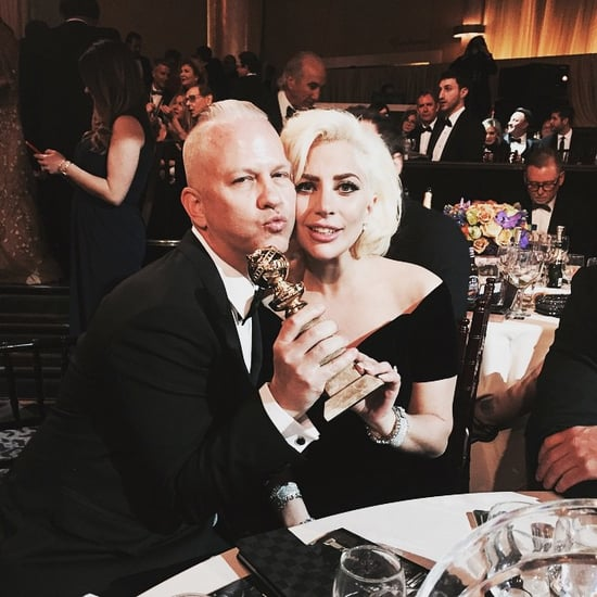 American Horror Story Cast Instagrams at Golden Globes 2016
