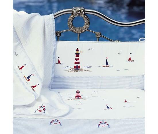 Sailing Crib Set