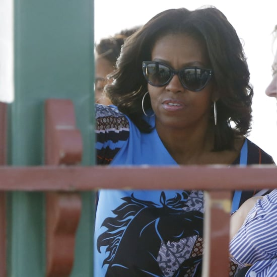 Michelle Obama Wearing Clover Canyon