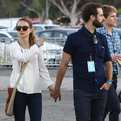 Celebrities at Justin Timberlake and Jay Z Rose Bowl Concert