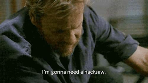 If Jack and MacGyver were locked in a room together, Jack would make a bomb out of MacGyver and get out.