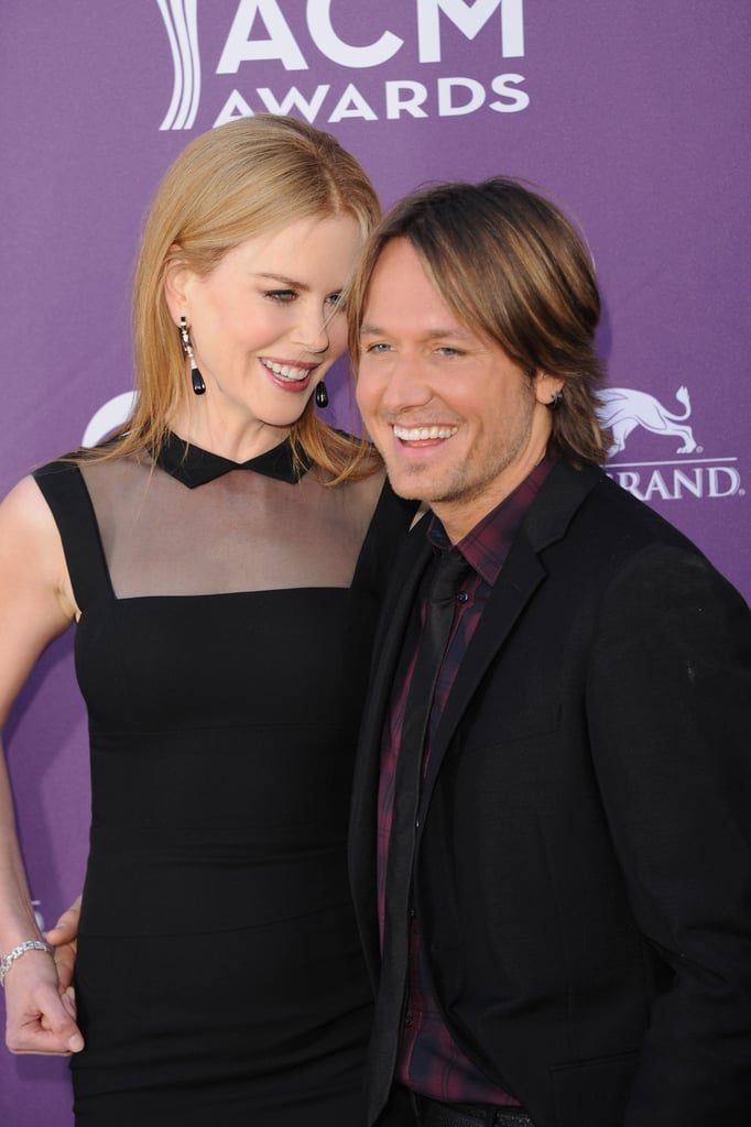 Together at the 2012 Academy of Country Music Awards.
